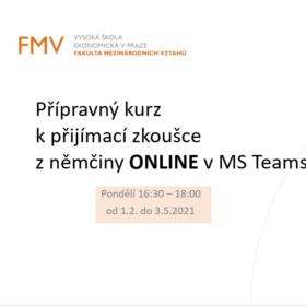 Přípravné kurzy z němčiny nově ONLINE